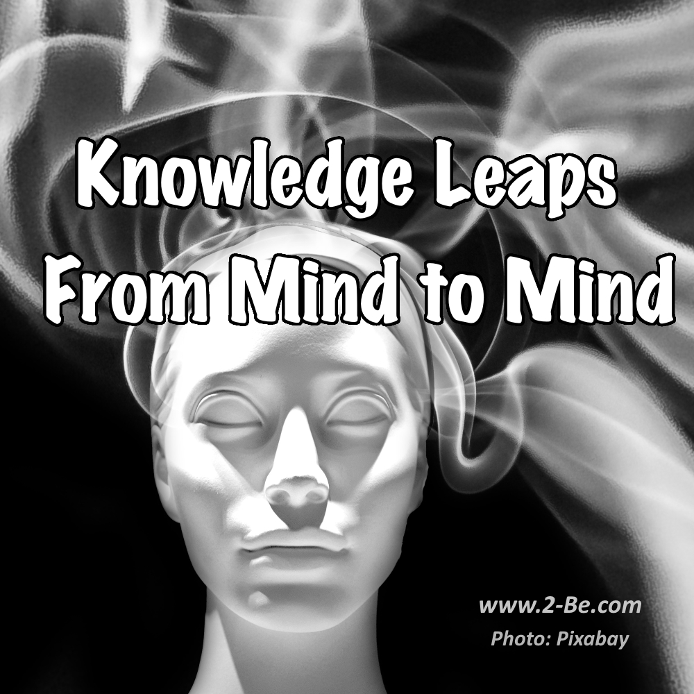 Knowledge Leaps From Mind to Mind