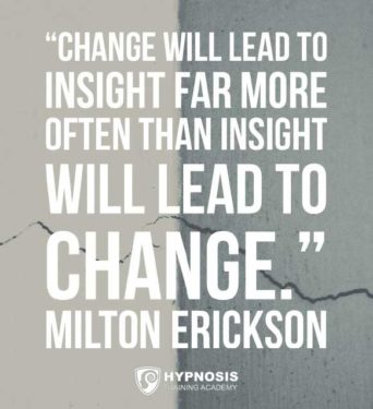 Milton Erickson - Insight to change